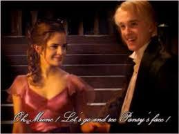 draco malfoy tom felton u0026 hermione granger emma watson youtube
