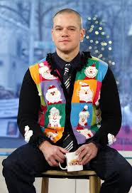 even celebrities love ugly christmas sweaters huffpost