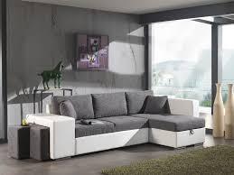 canapé convertible gris et blanc canapé convertible blanc et gris maison et mobilier d intérieur