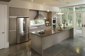 monochromatic kitchen custom cabinetry quartz countertop