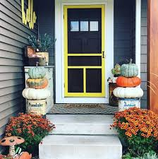 fall colors decorating ideas for fall yards
