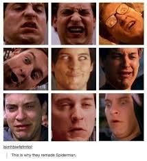 Peter Parker Meme Face - the many faces of peter parker meme by aceofspades2696 memedroid