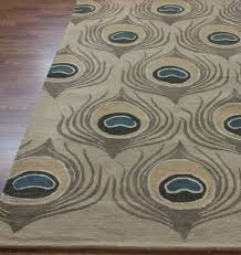 Peacock Area Rug Great Entry On Peacock Inspired Interiors Exle Of