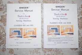 library of service manuals for singer sewing machines classes 600