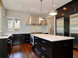 2 Tone Kitchen Cabinets by Two Tone Kitchen Cabinets Black And White Ideas Andrea Outloud