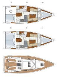 Luxury Yacht Floor Plans The Hanse 345 Team Windcraft Australia U0026 New Zealand