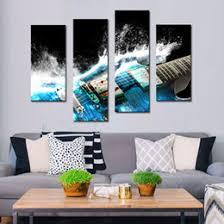 Guitar Home Decor Guitar Canvas Wall Art Online Guitar Canvas Wall Art For Sale