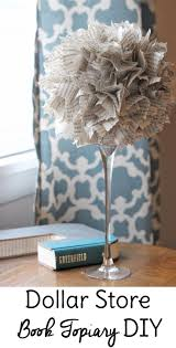 Dollar Tree Home Decor Ideas by 1013 Best Book Crafts U0026 Bookish Ideas Images On Pinterest Book