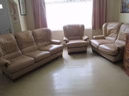 3 piece sofa set beige leather 3 piece suite 3 2 1 seater sofa set pale brown