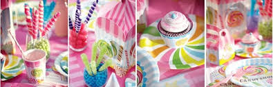 Candyland Theme Decorations - create the sweetest candy themed birthday ever