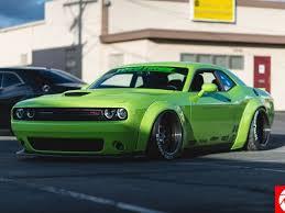 Overdone Widebody Liberty Walk Dodge Challenger Looks Overdone Dpccars