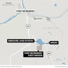 Wildfire Map Kamloops by More Evacuation Orders Issued For Fort Mcmurray Area Edmonton
