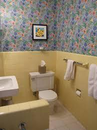 yellow tile bathroom ideas unique vintage yellow bathroom tile for small home decoration