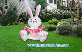 Easter Bunny Yard Decorations by Best Easter Yard Inflatables 2016 Yard Inflatable Life