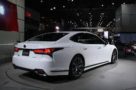 lexus models sedan lexus ls f sport brings performance upgrades sporty look