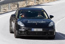 2007 Porsche Panamera 2017 Porsche Panamera S E Hybrid Spied Automotorblog