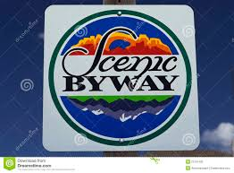 Americas Byways by Scenic Byway Road Sign Stock Photography Image 23151492