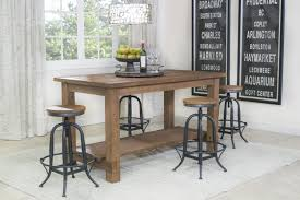 mor furniture for less the kitchen island dining room mor kitchen island dining room in light finish media image 1