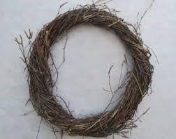 twig wreath twig wreath etsy