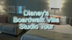 disney u0027s boardwalk villa studio tour disney vacation club youtube