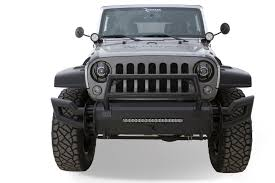 jeep wrangler front bumper rampage products 99509 trailram modular front bumper for 07 18