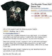 Three Wolf Shirt Meme - hilarious reviews sugar urn memes