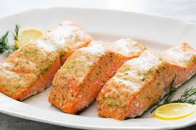 Bake Salmon In Toaster Oven Honey Mustard Salmon Recipe Simplyrecipes Com