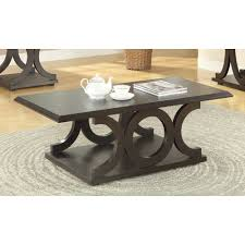 amazon com coaster home furnishings 703148 casual coffee table