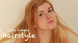 Einfache Frisuren Lange Glatte Haare by Einfache Frisur Für Mehr Volumen Für Feines Haar