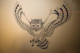 flying owls tattoos photo 4 2017 real photo pictures images