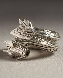 dragon jewelry rings images Lyst john hardy dragon coil ring in metallic for men jpeg