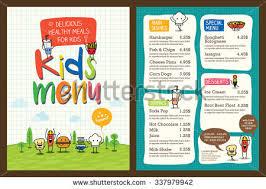 kids menu stock images royalty free images u0026 vectors shutterstock