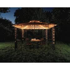 outdoor gazebo chandelier lighting gazebo ideas icicle solar outdoor string lights water drop fairy