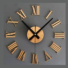compare prices on diy clock gold online shopping buy low price