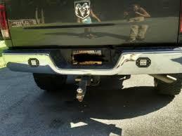 led bumper backup lights backup reverse lights under rear bumper page 3 dodge ram forum