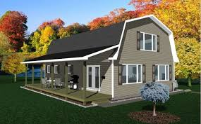 gambrel house plans barn living pole quarter with metal buildings gambrel barn plans