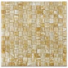honey onyx 12 x 12 polished tiles marble tiles amazon com