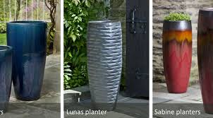 plant beautiful tall ceramic planters new colours inspired by