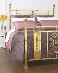 Brass Bed Frames Eye For Design Decorate With Brass Beds In The Boudoir