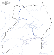 Map Of Uganda Africa by Uganda Free Map Free Blank Map Free Outline Map Free Base Map