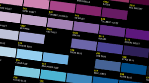 color charts clash high precision art supply