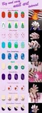 cool easy nail art designs for short nails polish easy nail art
