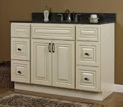 jsi wheaton kitchen cabinets jsi 48 rta cream paint with glaze vanity with 4 drawers at menards