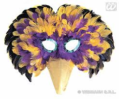 feather masks carnival accessories multi colour venetian feathers masks mask