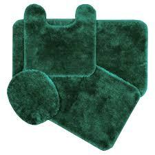 Memory Foam Bathroom Rug Set Green Bath Rug Lime Green Bath Rugs For Bathroom Ideas