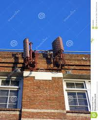 Painting A Wall To Look Like Brick Cellular Antenna Painted To Look Like Red Bricks Mounted To The