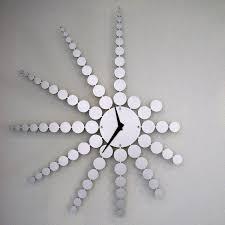 Clock Made Of Clocks by Clocks Metal Clocks Wooden Clocks U0026 Cat Clocks Artful Home