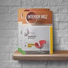 Interior Design Magazines Free PSD EPS AI InDesign Download - Modern interior design magazine