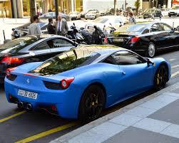 Ferrari 458 Blue - 6 i ferrari 458 italia 6 spider web matte blue ferrari 458 italia
