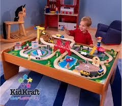 thomas train set wooden table ride around town train set with table compatible with thomas and